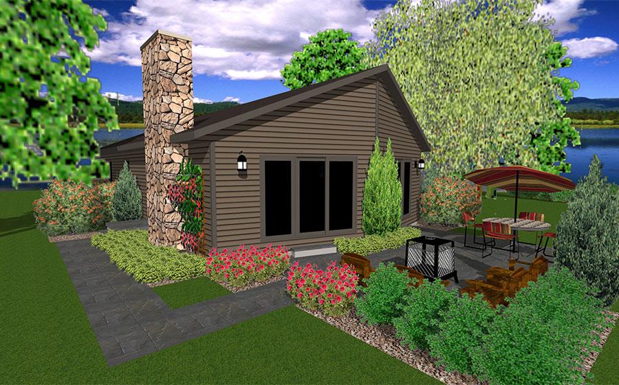 Basswood Floor Plan Custom Home by Everest Custom Home Builder Minocqua WI