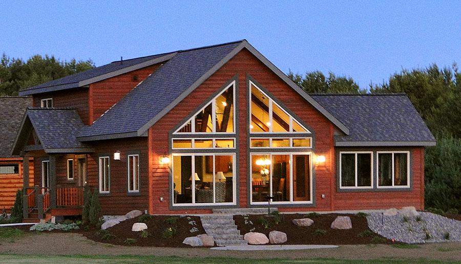 Cedarwood Model Custom Home by Everest Custom Home Builder Minocqua WI